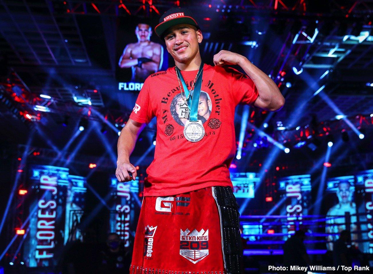 Gabriel Flores Jr - Boxing News