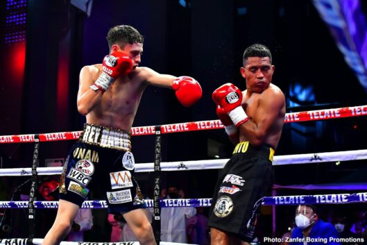 Eleazar Valenzuela, Miguel Berchelt - WBC super featherweight world Miguel Berchelt shook off the ring rust Saturday evening, stopping the rugged Eleazar Valenzuela in the sixth round of a lightweight non-title bout at TV Azteca Studios.