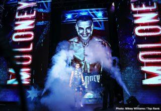 "Naoya Inoue - Australian contender Jason Moloney is going ""monster hunting"" Saturday evening (ESPN+, 7:30 p.m. ET) when he faces WBA/IBF/Ring Magazine bantamweight world champion Naoya. ""Monster"" Inoue (19-0, 16 KOs) from the MGM Grand Las Vegas Bubble."
