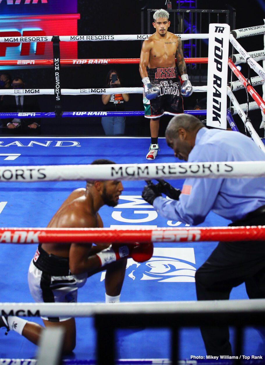 Jessie Magdaleno, Yenifel Vicente - Boxing News