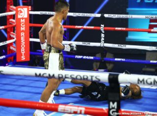 """Boxing Results - """"Magic"""" Mike Plania had an evening that was nothing short of magical. The Filipino upstart stunned WBO No. 1 bantamweight contender Joshua Greer Jr. via majority decision Tuesday evening from the MGM Grand Conference Center—Grand Ballroom."""