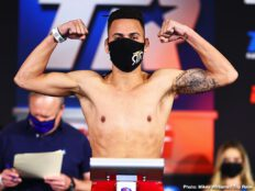 Adan Gonzales, Jose Pedraza, Mikkel Lespierre, Robeisy Ramirez - Don't miss Pedraza vs. LesPierre - TOMORROW at 8 p.m. ET / 5 p.m. PT live on ESPN & ESPN Deportes from the MGM Grand Conference Center - Grand Ballroom (Las Vegas) - Live boxing is back!