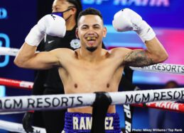 Felix Caraballo, Robeisy Ramirez, Shakur Stevenson, Yeuri Andujar - Jared Anderson, Guido Vianello and Robeisy Ramirez also notch victories @ MGM Grand in Las Vegas