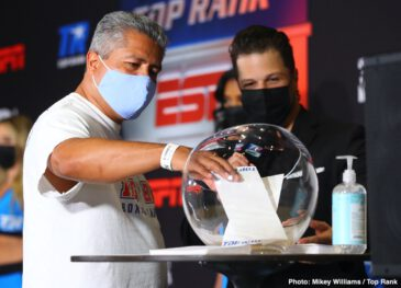 Jessie Magdaleno, Yenifel Vicente - Top Rank on ESPN live events continue Thursday, June 11 when former junior featherweight world champion and top featherweight contender Jessie Magdaleno faces Dominican puncher Yenifel Vicente in a 10-rounder, with coverage starting at 7 p.m. ET on ESPN and ESPN Deportes.