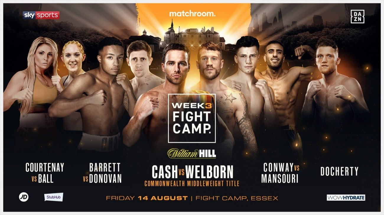 Felix Cash, Jason Welborn - Jason Welborn says he was close to walking away from boxing after his controversial loss to James Metcalf last year, but the former World Title challenger has a new found hunger ahead of his Commonwealth Middleweight Title clash with Felix Cash on Week 3 of Matchroom Fight Camp on Friday August 14.