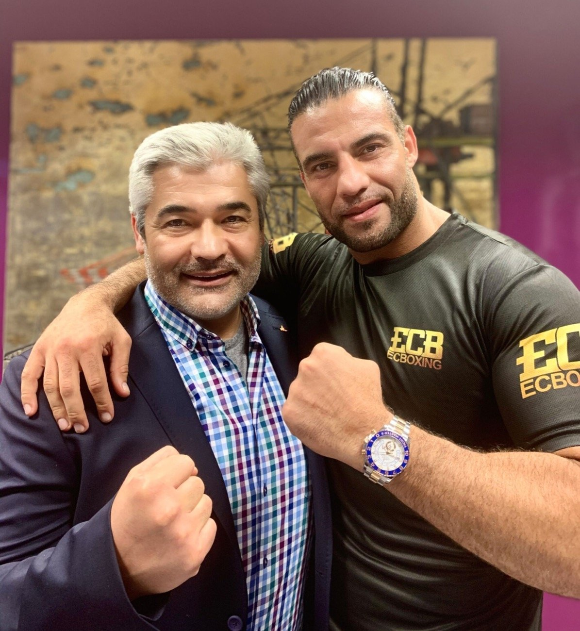 Manuel Charr - Boxing promoter Erol Ceylan has signed WBA (Regular) heavyweight champion Mahmoud Charr to a long-term contract in Hamburg. Charr has held the WBA (Regular) heavyweight title since 2017 and has won 31 of his 35 fights as a professional.