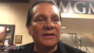 Roberto Duran Update: Duran Has Covid Against The Ropes