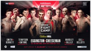 Sam Eggington, Ted Cheeseman - Eddie Hearn promised and according to today's press release, Eddie Hearn will deliver. His initial tweets seemed like pipedreams, boxing in Matchroom HQ gardens featuring some great fights and no fans. If this was proposed during normal times the boxing world would think Eddie had gone mad, but these aren't normal times.