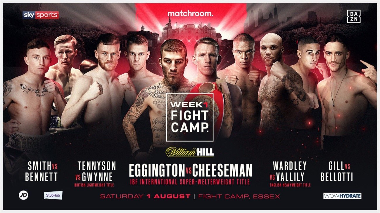 Sam Eggington, Ted Cheeseman - Boxing News