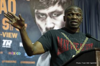"Floyd Mayweather Sr's Brutal Assessment Of Deontay Wilder – ""He's Trash"""