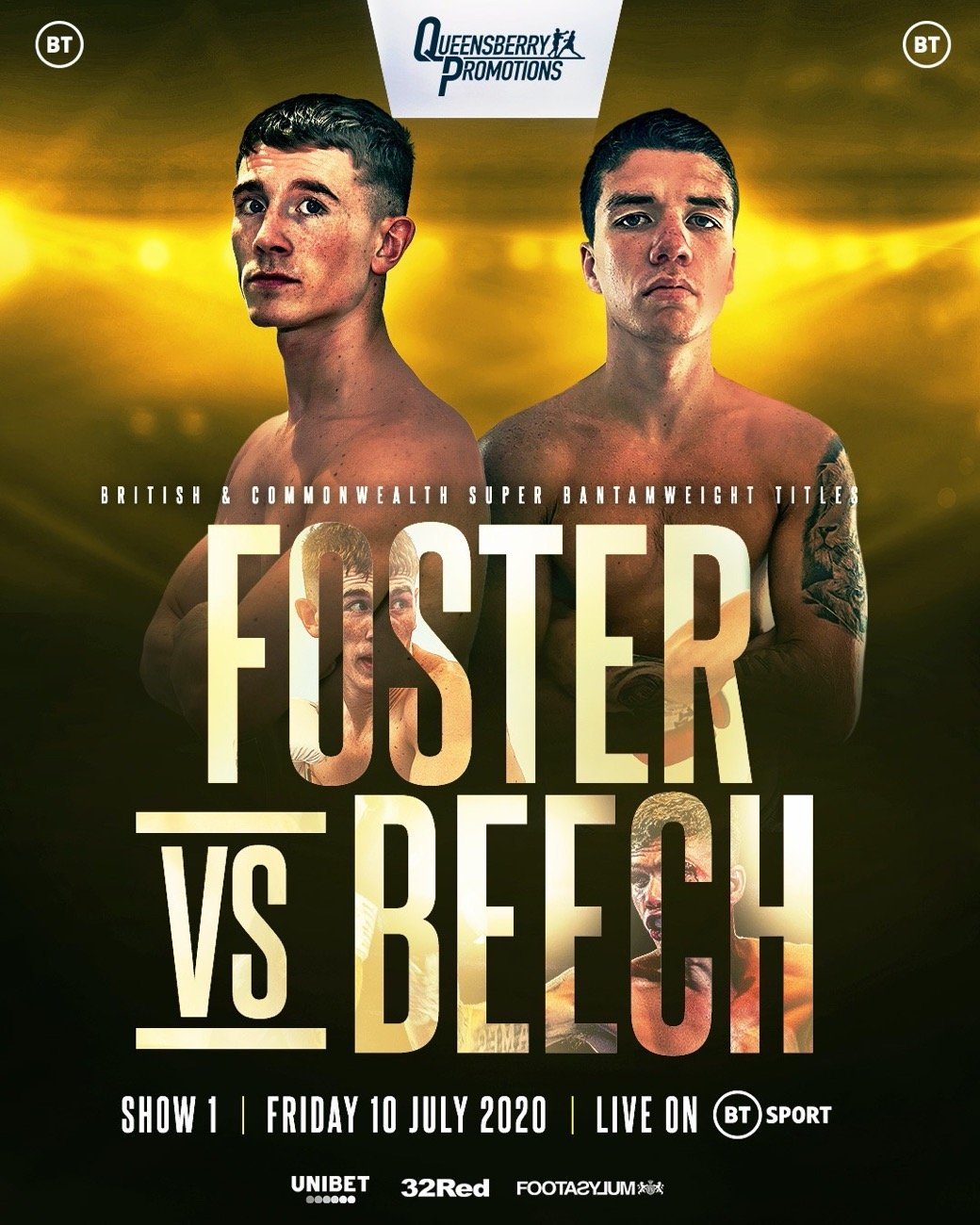 Brad Foster, James Beech - BRAD FOSTER IS looking to pick up where he left off when he makes a return to the ring on July 10 at the BT Sport studios.