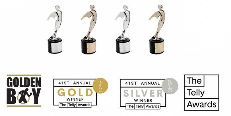 - Golden Boy, the leading sports and entertainment brand, is delighted to announce that the 41st Annual Telly Awards have recognized it with four wins for productions developed by the company. Now in its third year of entry, Golden Boy has won awards every year, capturing a total of 12 awards since 2018.
