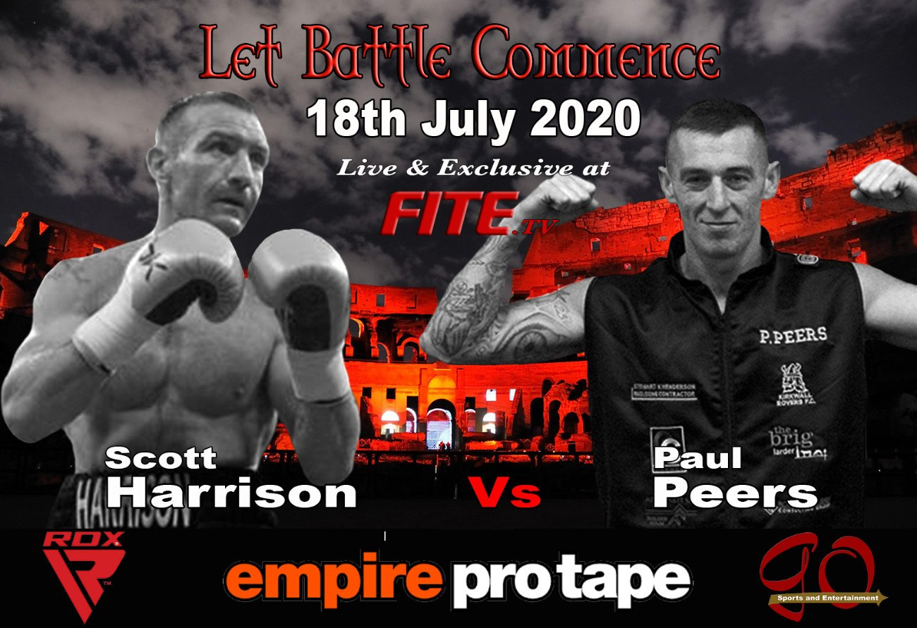 Scott Harrison - With a distinct lack of live boxing events, due to the global COVID-19 Pandemic, the British & Irish Boxing Authority (BIBA) today announced a series of Ten Professional Boxing Events under the 'Let Battle Commence' banner, which will be broadcast live and exclusive on FITE TV starting on the 18th July 2020.