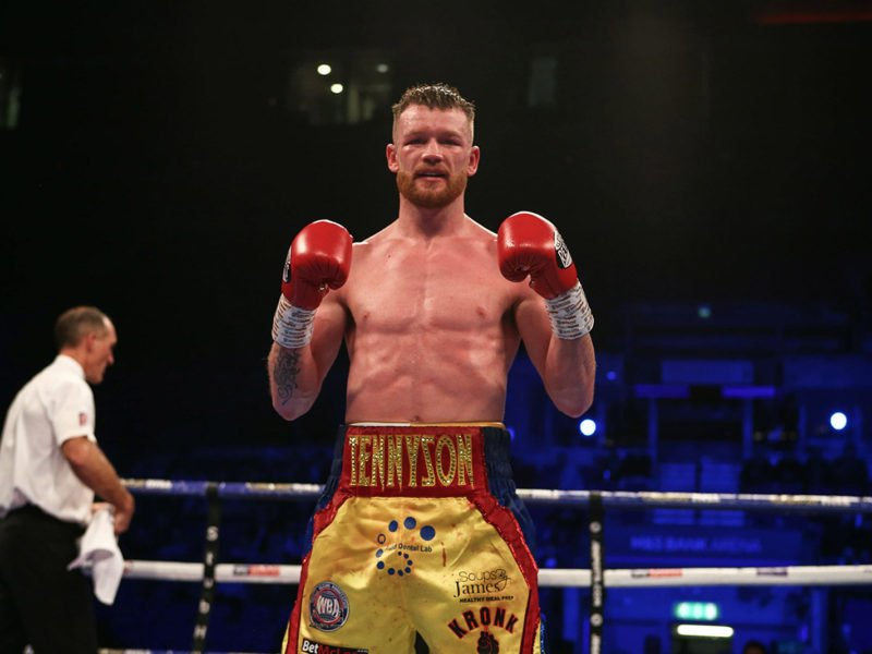 James Tennyson - James Tennyson is confident he can mix it with the top fighters in the Lightweight division and has his eyes set on a second World Title shot as he spoke with Chris Lloyd in the latest episode of Matchroom Boxing's podcast 'The Lockdown Tapes'.