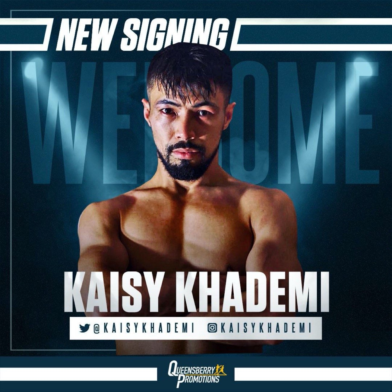 Kaisy Khademi - THE WBO EUROPEAN super flyweight champion Kaisy Khademi has teamed up with Frank Warren and will now fight on the Queensberry Promotions platform.