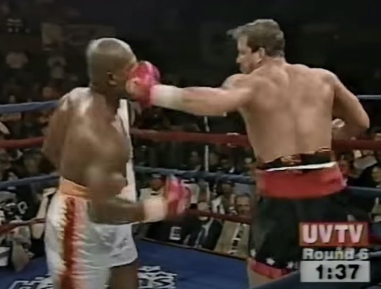 "Donovan Ruddock, Tommy Morrison - The heavyweight fight most expected would turn into either a war or end via a violent KO, or both, was dubbed ""Raw Power."" It took place 25 years ago today. It was Tommy Morrison Vs. Donovan ""Razor"" Ruddock. And it was brutal."
