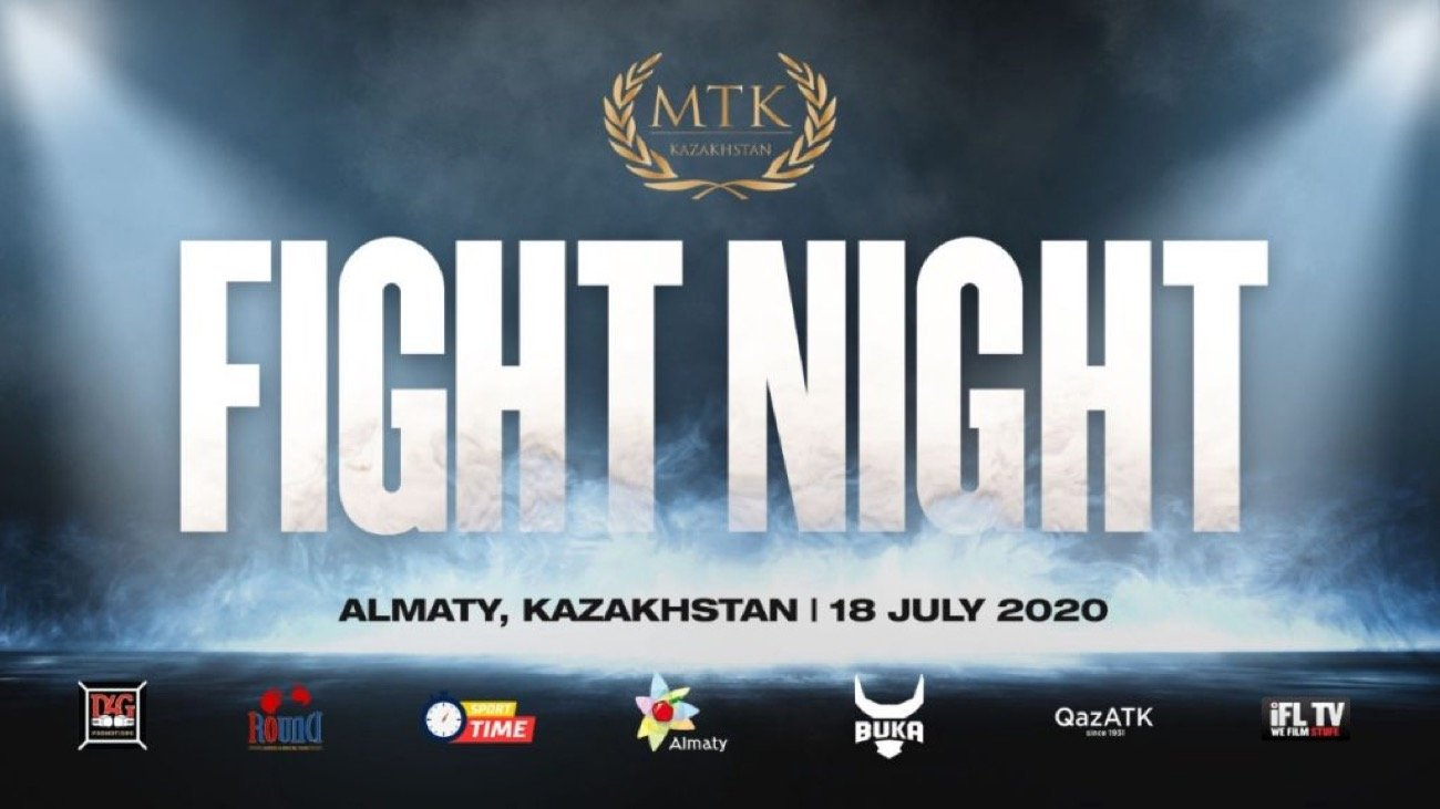 Abay Tolesh - #MTKFightNight will make a triumphant return to Kazakhstan next month when a huge event takes place in Amalty on July 18 - with two elite amateurs making their professional debuts.