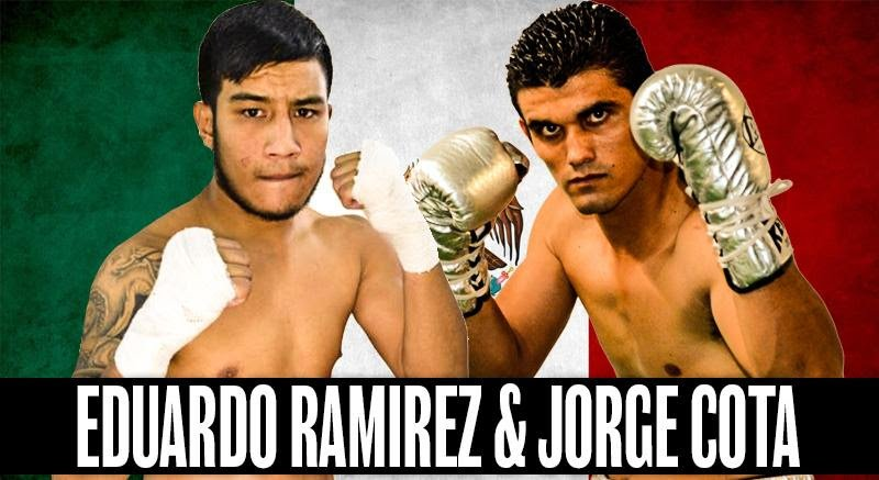 "Eduardo 'Zurdito' Ramirez, Jorge ""Demonio"" Cota - Sampson boxing proudly announces the re-signing of featherweight contender Eduardo ""Zurdito"" Ramirez and super welterweight contender Jorge ""Demonio"" Cota, both of Los Mochis, Sinaloa, Mexico, to exclusive long-term promotional contracts."