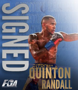 Junior Younan, Quinton Randall - Peter Kahn's Fight Game Advisors has signed Top Welterweight Prospect, Quinton Randall, (6-0, 2 K.O.s) of Houston, TX, to an exclusive managerial contract, it was announced today.