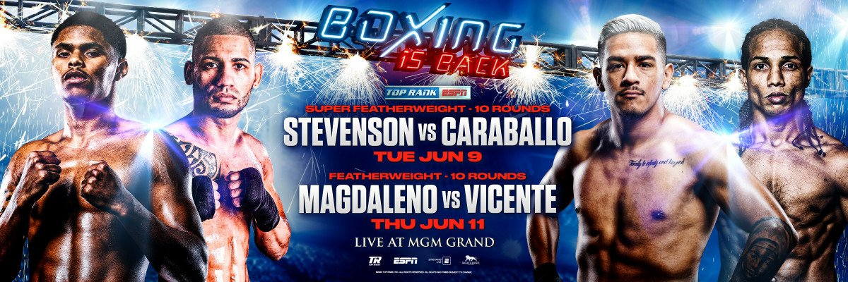 Boxing News - It can all be summarized in three long-awaited words: boxing is back.