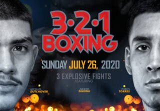 Jorge Marron Jr. - Thompson Boxing's CEO Ken Thompson Gives Live In-Depth Interview About 3.2.1 PPV Boxing Stream Event