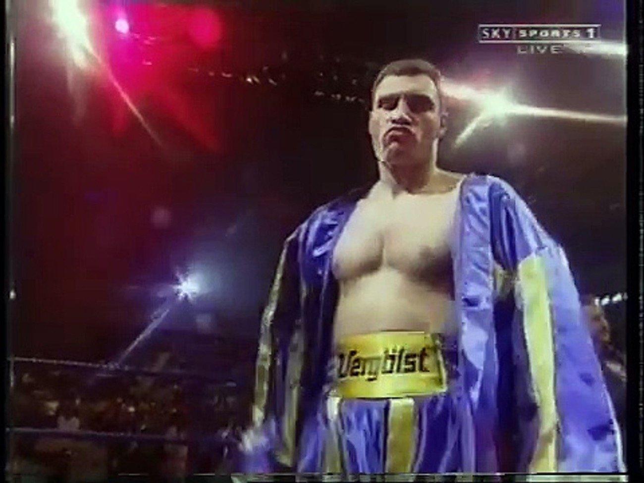 Herbie Hide, Vitali Klitschko - Boxing History