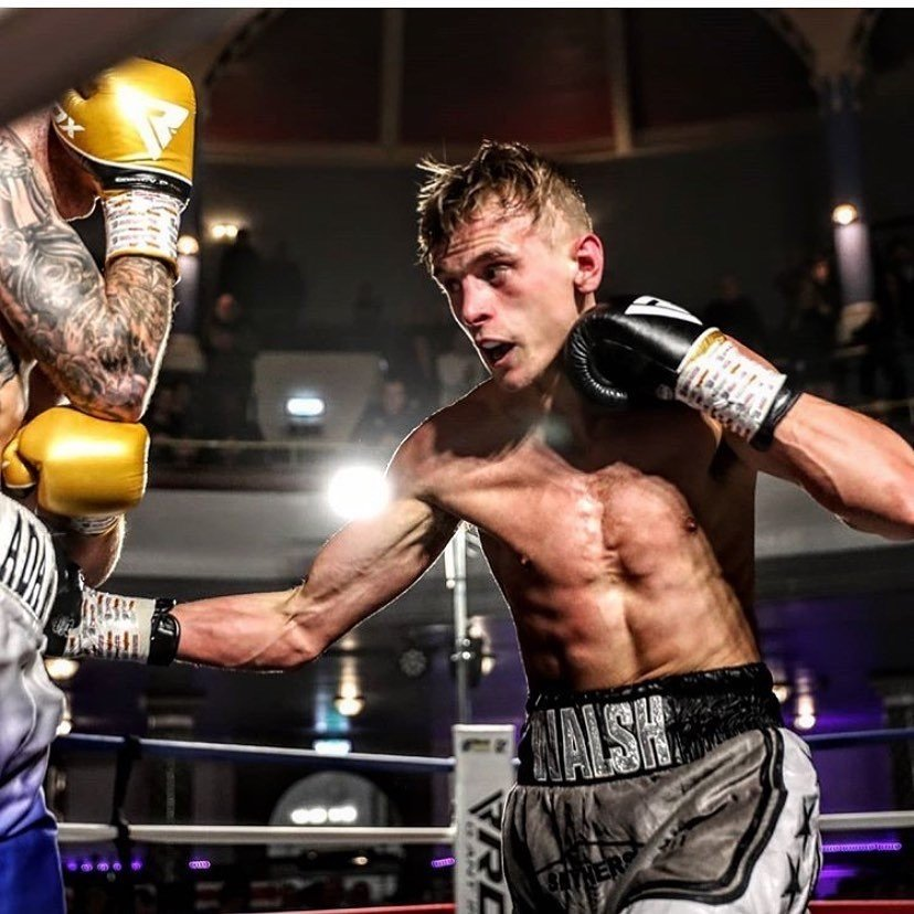 Jonathan Walsh - 24-year-old super-lightweight talent Jonathan Walsh (4-0, 1KOs), trained by Paul Stevenson at the Everton Red Triangle Gym, has swapped his boxing gloves for heavyweights.