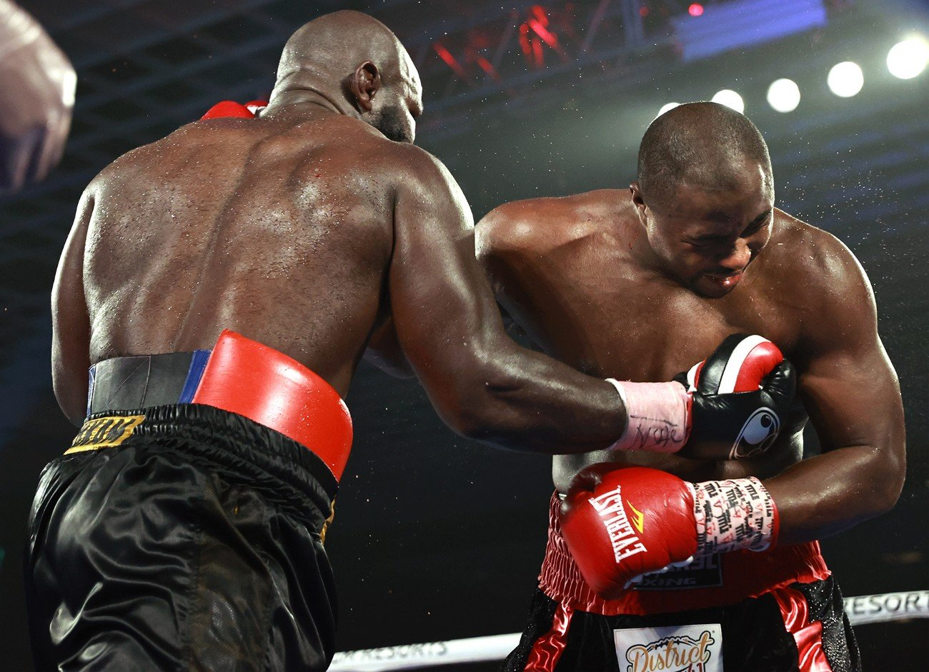 """Carlos Takam - Carlos Takam, at 39 years old, is still a heavyweight force. Takam ended Week 5 inside the MGM Grand """"Bubble"""" with a 10-round unanimous decision over Jerry Forrest by scores of 98-92, 97-93, and 96-94."""
