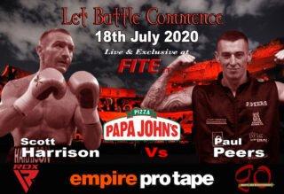 Paul Peers, Scott Harrison - British Boxing