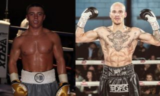 Jerome Campbell, Nick Ball - British Boxing