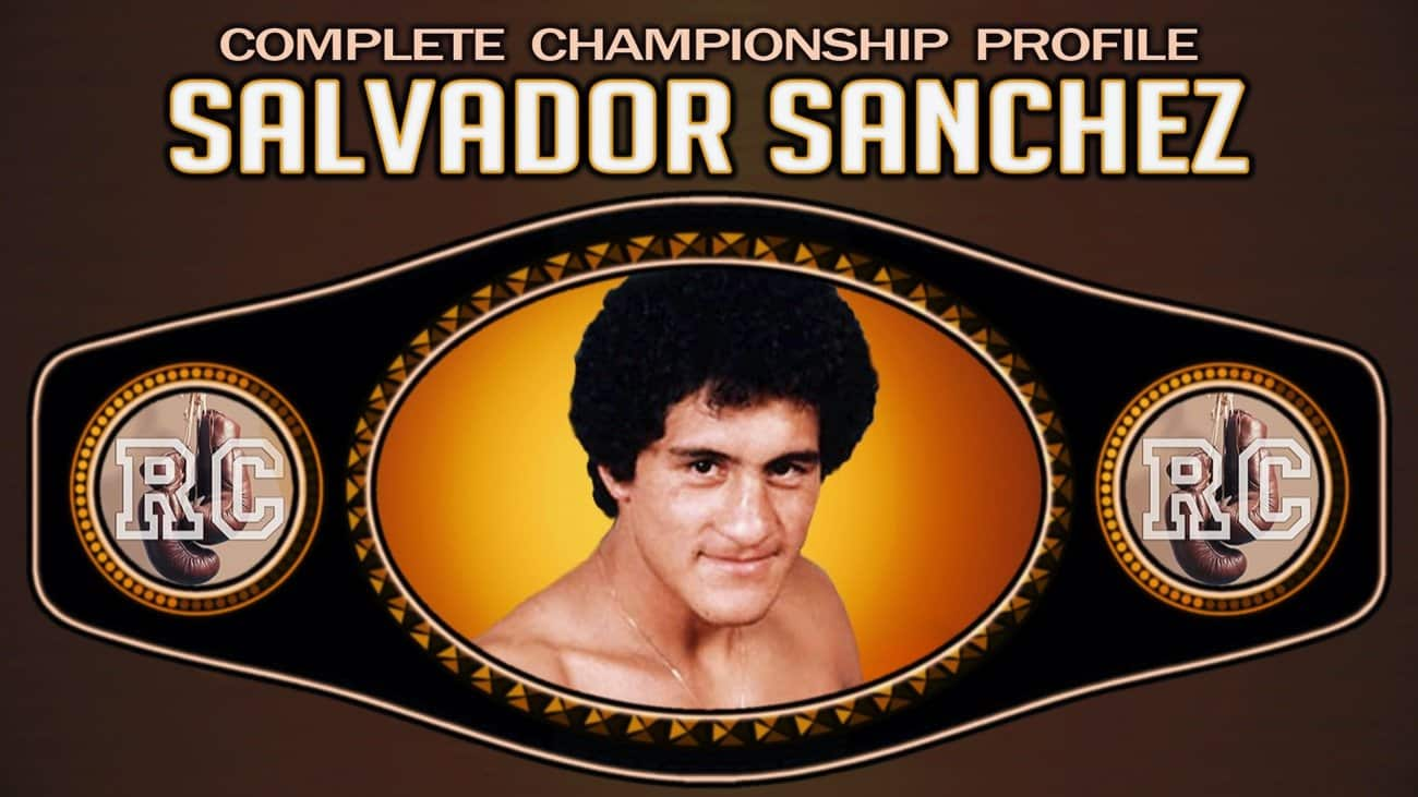 Boxing History - Salvador Sanchez is a former featherweight world boxing champion who was inducted into the International Boxing Hall of Fame in 1991.