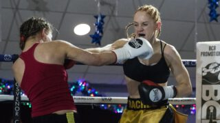 Shannon Courtenay - Shannon Courtenay says she is ready to justify her hype when she takes on Rachel Ball over eight rounds in a Super-Bantamweight contest at Matchroom Fight Camp this Friday August 14 in Brentwood, Essex, live on Sky Sports in the UK and DAZN in the US.