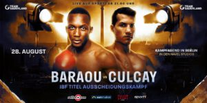 """Abass Baraou - SPORT1 TV commentator and German boxing expert Tobias Drew on Culcay vs Baraou: """"I was surprised that this fight was made! For Jack Culcay, the fight does involve huge risks. He is much further along in his career and more experienced than Baraou and a loss would have a serious impact on his career. If Culcay wins this fight, Jack would take his career to the next level. He has fought big names such as Demetrius Andrade and Sergiy Derevyanchenko and even almost beat them. When you look at these fights, you know what caliber Jack is. Jack wants to fight the best and that includes Abass Baraou."""