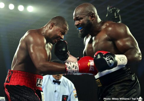 Carlos Takam, Jerry Forrest - Press Room