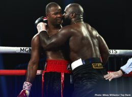 "Carlos Castro, Carlos Takam, Jerry Forrest - Carlos Takam, at 39 years old, is still a heavyweight force. Takam ended Week 5 inside the MGM Grand ""Bubble"" with a 10-round unanimous decision over Jerry Forrest by scores of 98-92, 97-93, and 96-94."