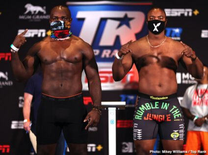 Carlos Takam, Jerry Forrest - Boxing News