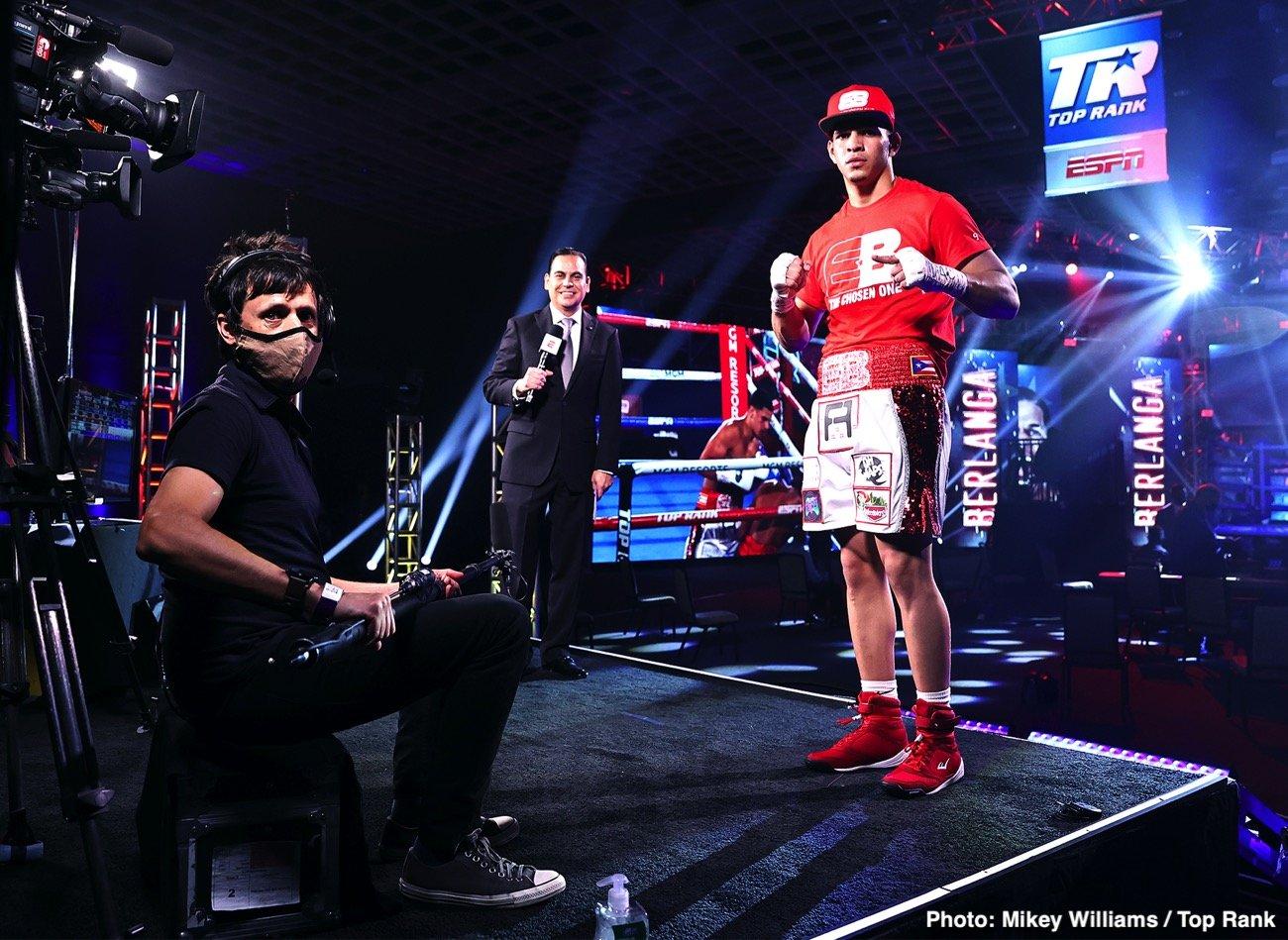 Edgar Berlanga - Boxing News