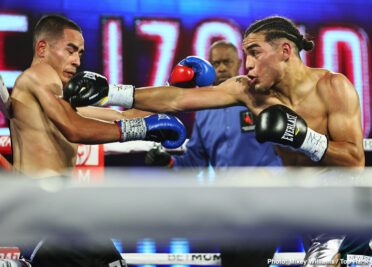 "Andy Vences, Jose Zepeda, Kendo Castaneda, Luis Alberto Lopez - The boogeyman of the junior welterweight division kept on rolling Tuesday night. Two-time world title challenger Jose ""Chon"" Zepeda (32-2, 25 KOs) outboxed Kendo ""Tremendo"" Castaneda (17-2, 8 KOs), rolling to a unanimous decision victory (98-92 2x and 97-93) at the MGM Grand Conference Center — Grand Ballroom."