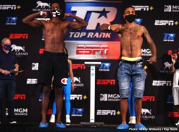 Carlos Takam, Jerry Forrest - Don't miss Takam vs. Forrest - TONIGHT at 8 p.m. ET / 5 p.m. PT live on ESPN & ESPN Deportes from the MGM Grand Conference Center - Grand Ballroom (Las Vegas)