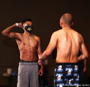 Jose Zepeda, Kendo Castaneda - Don't miss Zepeda vs. Castaneda TOMORROW at 8 p.m. ET / 5 p.m. PT live on ESPN & ESPN Deportes from the MGM Grand Conference Center - Grand Ballroom (Las Vegas) - Live boxing is back!