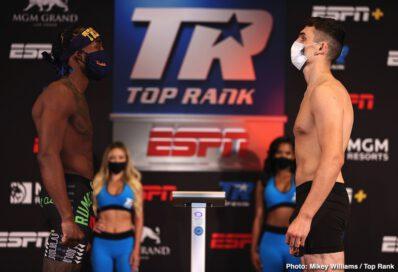 Edgar Berlanga, Eric Moon, Isaac Dogboe, Jayson Velez, Óscar Valdez - Live boxing is back! TOMNIGHT at 8 p.m. ET / 5 p.m. PT live on ESPN & ESPN Deportes from the MGM Grand Conference Center - Grand Ballroom (Las Vegas)