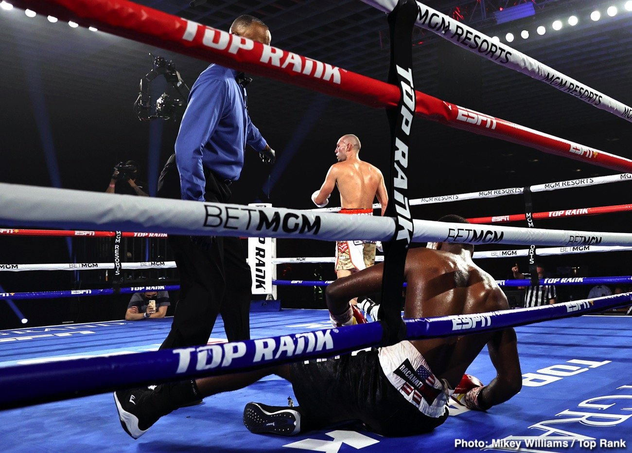 Jose Pedraza - Former two-weight world champion Jose Pedraza's quest for a title in a third weight class is alive and well. Pedraza, from Cidra, Puerto Rico, toppled Mikkel LesPierre via unanimous decision (100-88 and 99-89 2x) Thursday night in a junior welterweight bout.