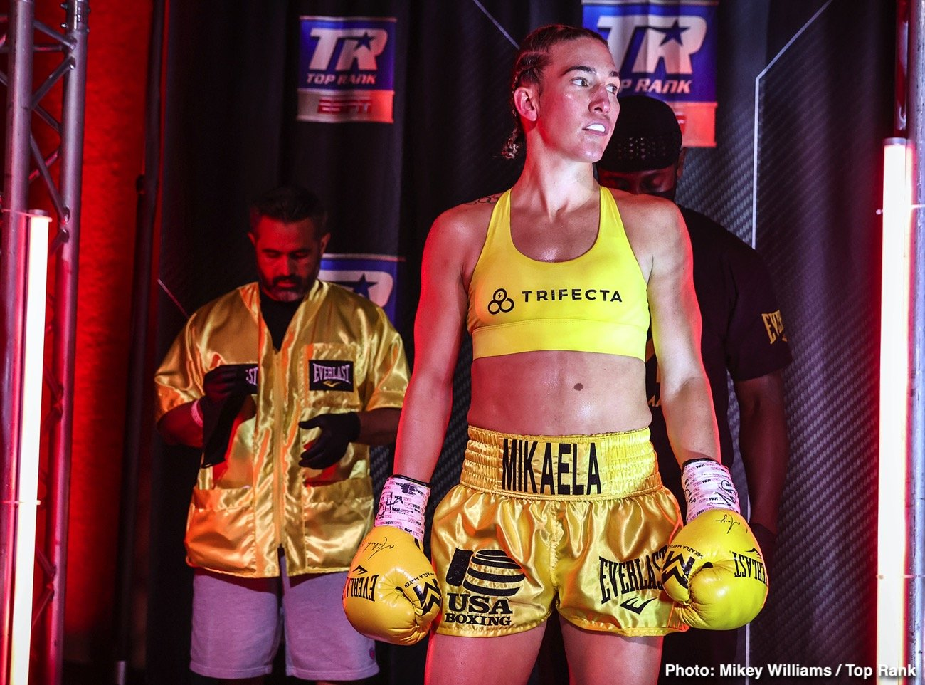 Ewa Brodnicka, Jason Moloney, Mikaela Mayer, Naoya Inoue - Mikaela Mayer called on the junior lightweight world champions for a fight. One of them was mandated to answer.