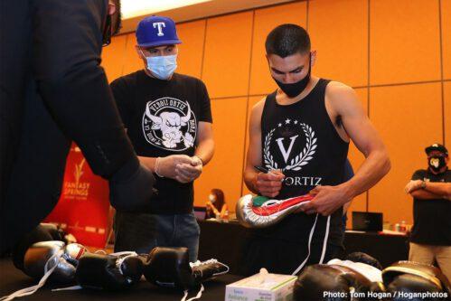 Hector Tanajara Jr., Mercito Gesta, Samuel Vargas, Shane Mosley Jr, Vergil Ortiz - Boxing News