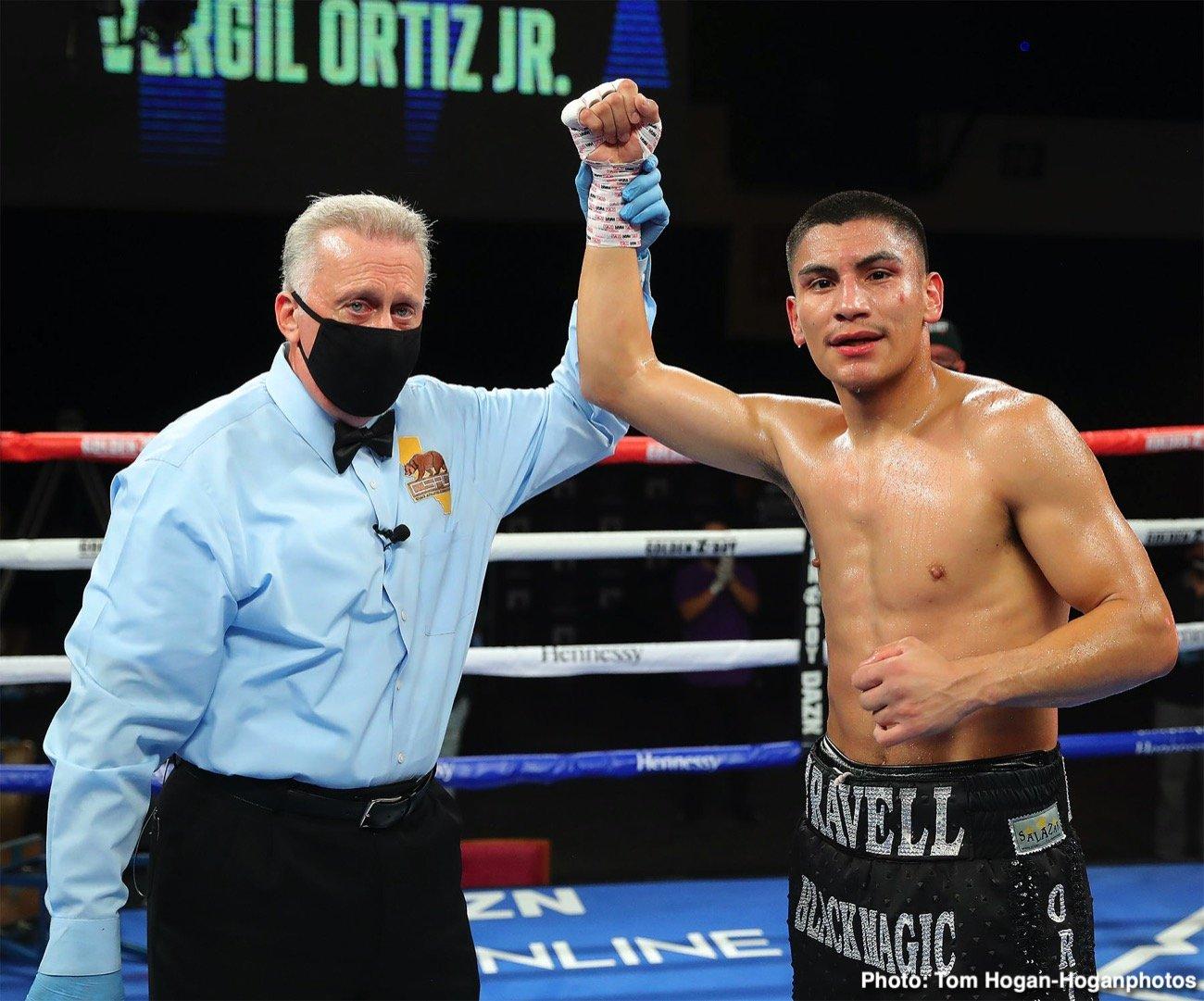 Maurice Hooker, Terence Crawford, Vergil Ortiz Jr. - Boxing News