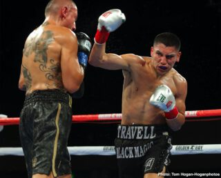 Vergil Ortiz Jr. - WBA Gold welterweight champion Vergil Ortiz Jr (16-0, 16 KOs) used his superior power to batter his opponent Samuel Vargas (31-6-2, 14 KOs) until the fight was stopped in the seventh round on Friday night. The match took place at the Fantasy Springs Resort Casino in Indio.