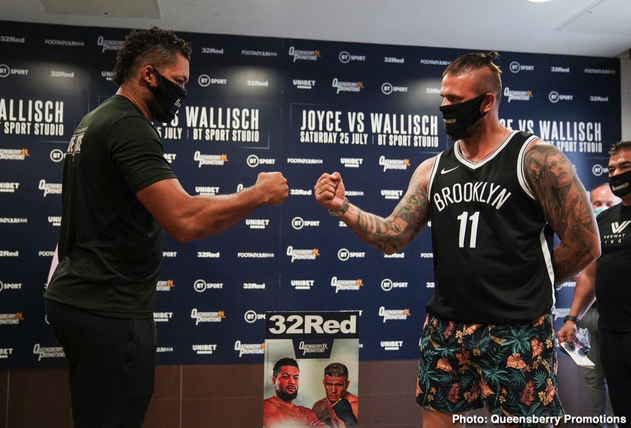 Joe Joyce, Michael Wallisch - Boxing News