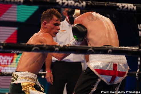 Joe Joyce, Michael Wallisch - Boxing Results