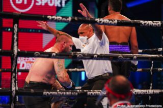 Michael Wallisch - Boxing returned to BT Sport for its second showing of the behind-closed-doors era with an action-packed, KO-heavy spectacle from the BT Sport studio in Stratford.