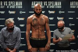 Anthony Yarde, Lyndon Arthur - ESPN+ stream to begin at 3 p.m. ET/12 p.m. PT - Lyndon Arthur returns to action tomorrow night in a blockbuster Commonwealth Title clash against a tough challenger in Scunthorpe's Dec Spelman.